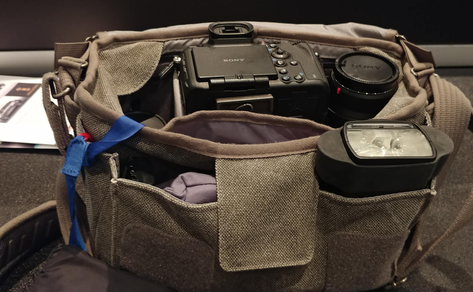 Retrospective 7 camera bag by think tank