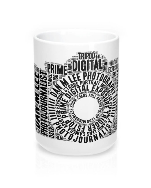 Dan M Lee Photography Word Cloud Mug 15oz