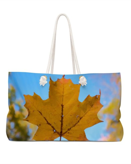 Fall Weekend Tote Bag