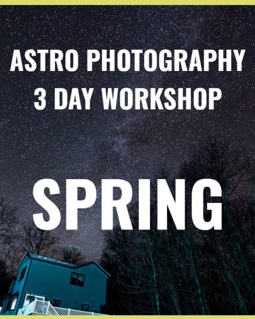Vermont 3 Day Astrophotography Course