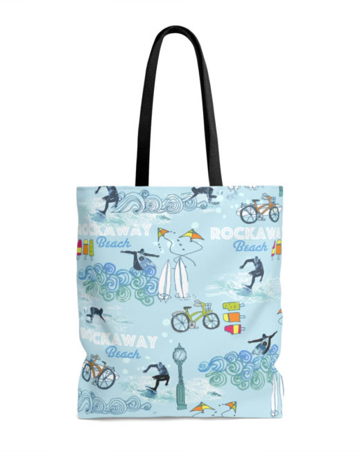 Rockaway Beach Tote Bag