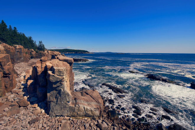 Boulder Beach and East Coast Acadia National Park