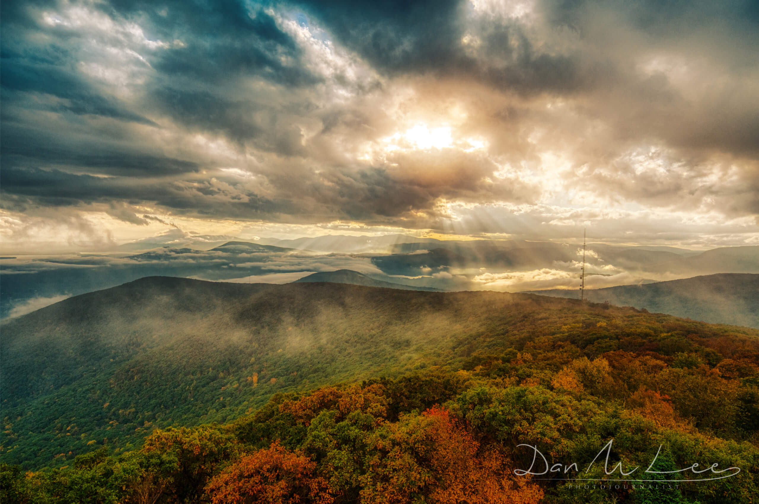 Overlook Woodstock New York Landscape Photography Dan M Lee