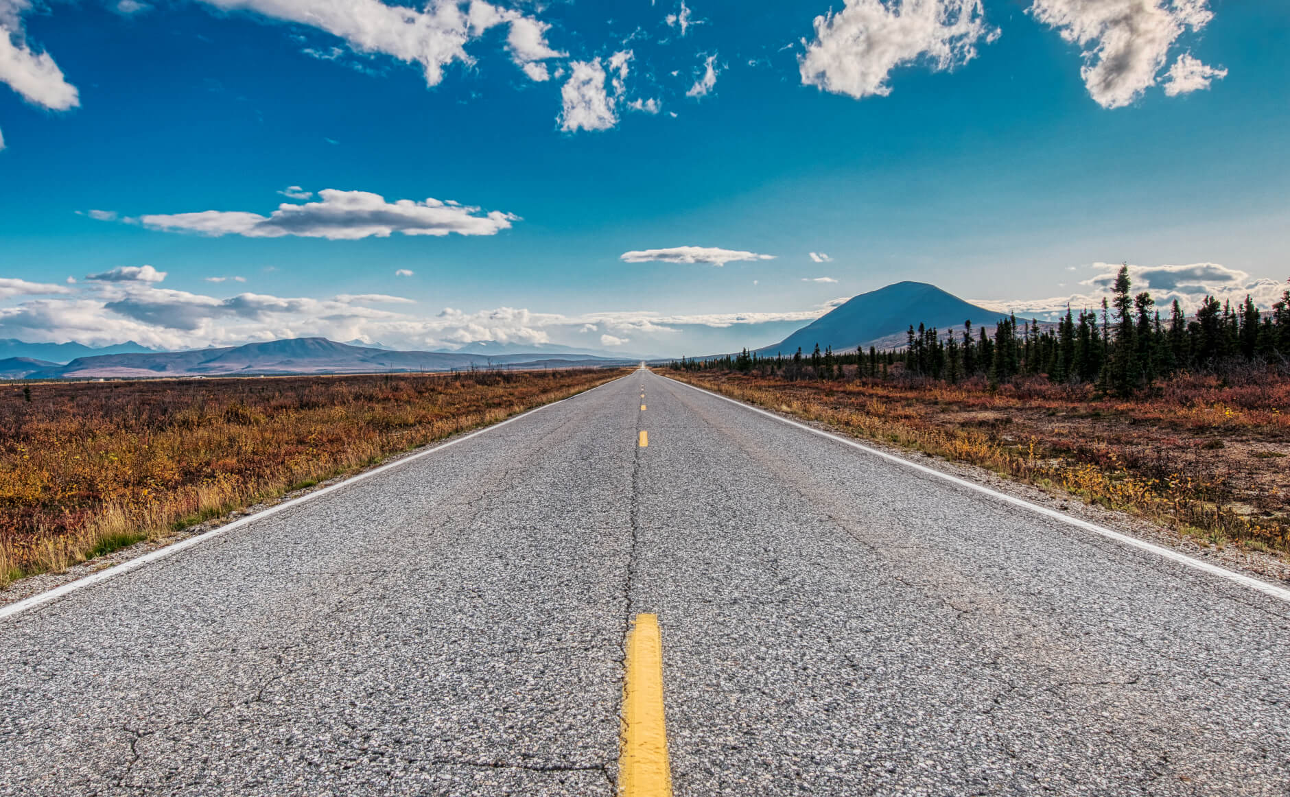 Richardson Highway in Alaska