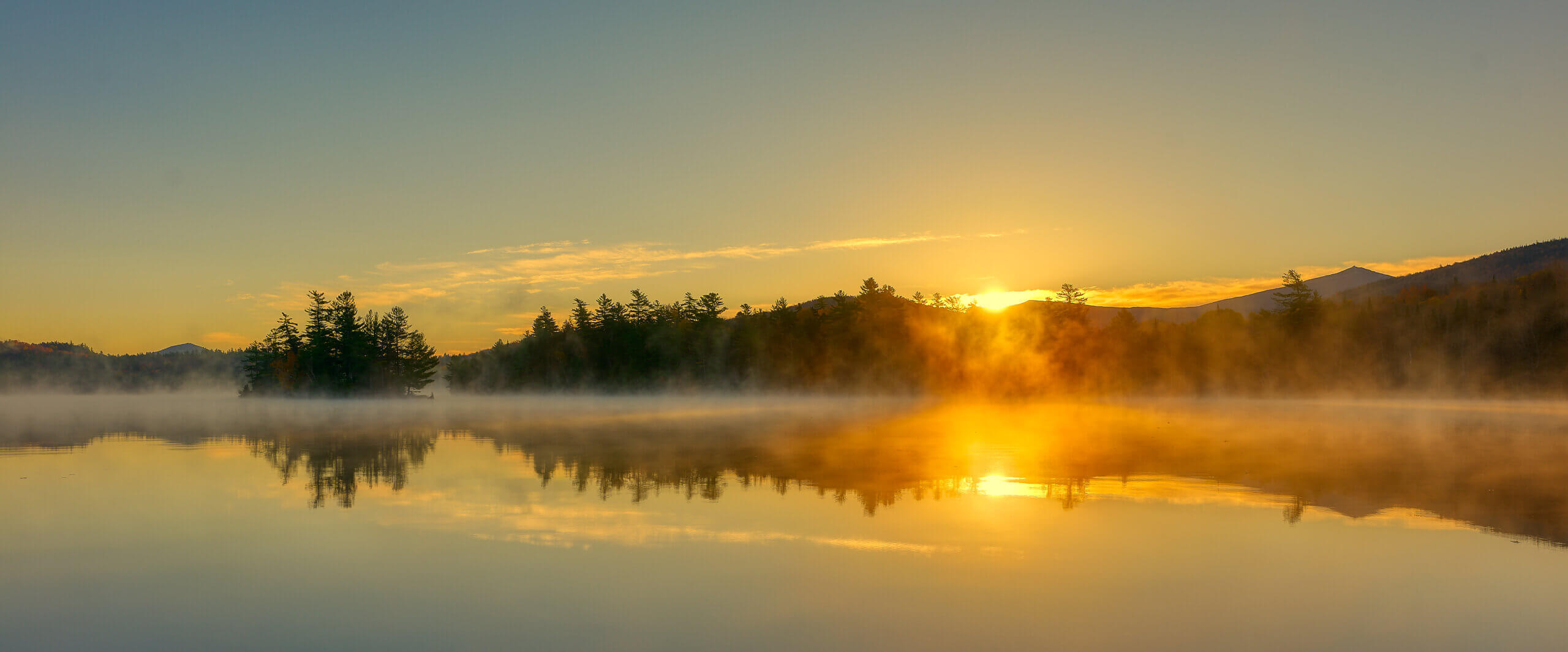 Lake Placid New York Sunrise