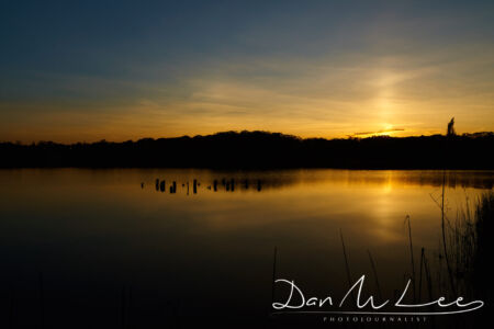 New York State Sun Set at Rye