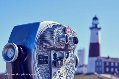 Montauk Light House on Long Island New York