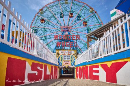 Coney Island Wonder Wheel in Brooklyn New York City