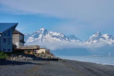 Seward Alaska from Lowell Point