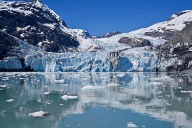 Columbia Glacier Calving
